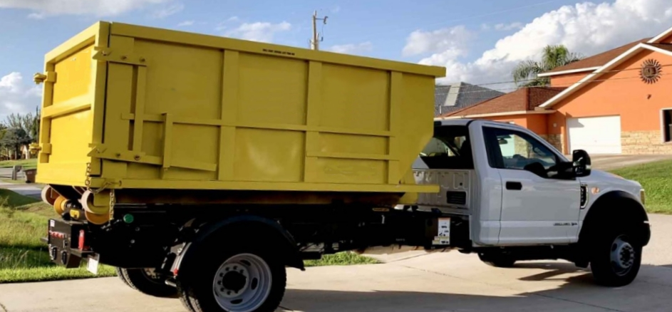 our dumpster truck